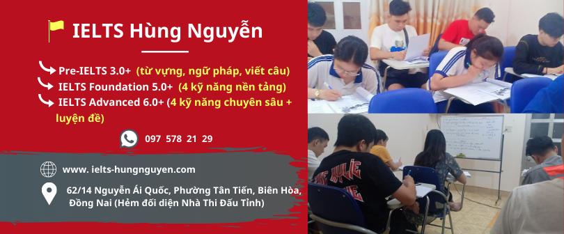 IELTS Hùng Nguyễn